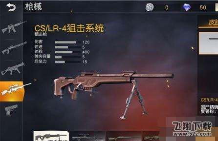 荒野行动CS/LR-4狙击系统怎么样 CS/LR-4狙击系统介绍
