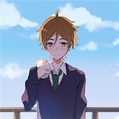 男生卡通头像酷帅阳光一点的 阳光帅气动漫男生小清新高清头像精选图片