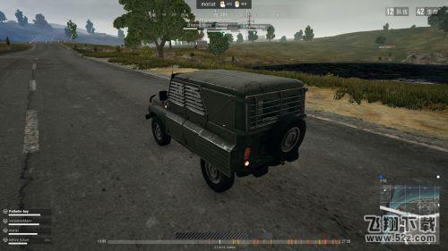 绝地求生乌阿斯吉普车怎么样 绝地求生防弹车乌阿斯评测 飞翔教程