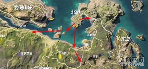 荒野行动新地图北港怎么打 新地图北港打法详解