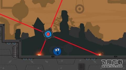 蓝色的球滚V1.0 安卓版