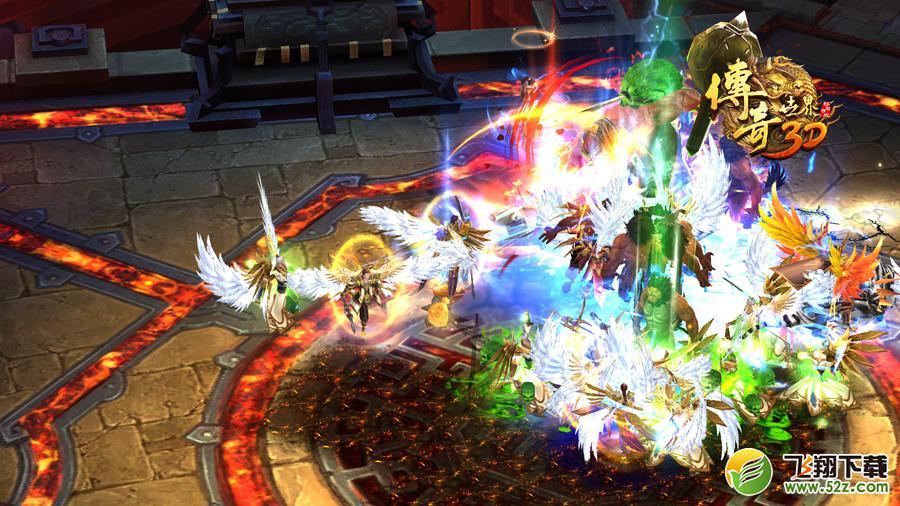 别绷着,来战!《传奇世界3D》全平台不限号火爆开侧中!