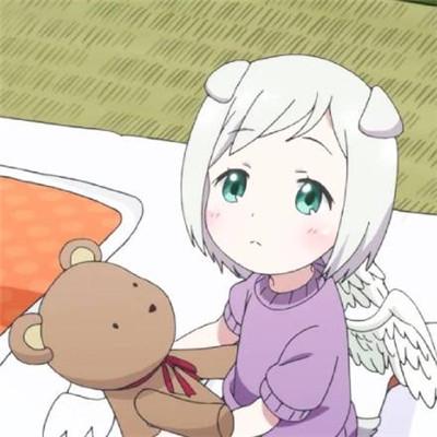 萌 2018动漫卡通女生头像可爱甜美高清图片  你是我即使伤心也舍不得