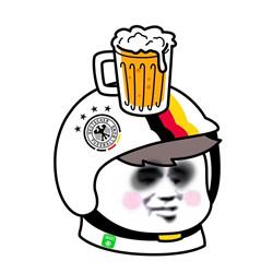 2018世界杯队标头盔头像完整版