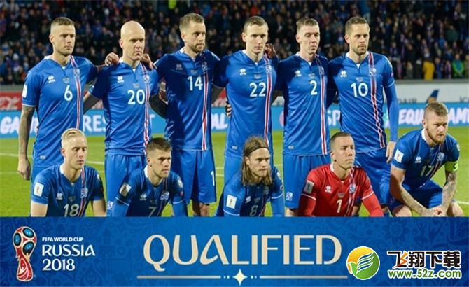 22 2017年10月9日,冰岛队以欧洲区i组第一直接晋级直接晋级2018俄罗斯