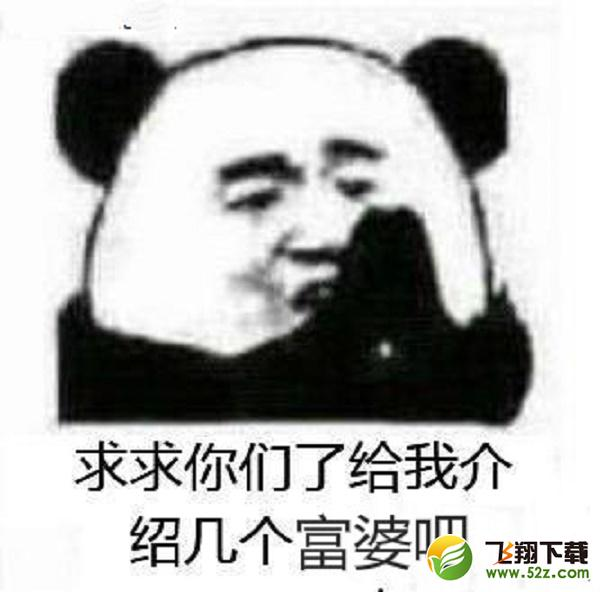 是不是想我了表情包_能给我介绍几个富婆吗我不想努力了熊猫头表情包