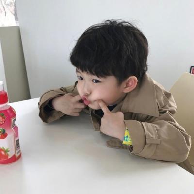 超可爱萌娃头像帅气小男生2018 超萌卡哇伊小男孩萌娃头像精选