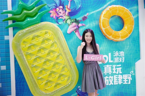 《英雄联盟》大区最美小姐姐亮相ChinaJoy 一起来Pick心仪L-Girl_52z.com
