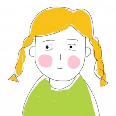 呆萌可爱卡通情侣头像一男一女分开两张 又呆又萌的一男一女卡通情侣图片