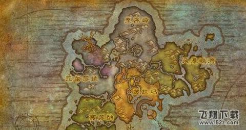 魔兽世界8.0邪火小径在哪 邪火小径位置坐标介绍