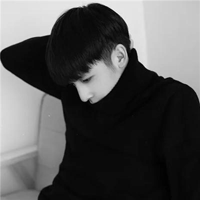 最新2018非主流男生帅气黑白头像大全 2018黑白系非主流个性男生头像