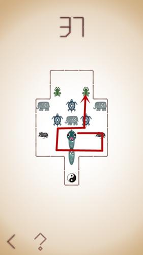 微信蛇它虫第37关通关攻略