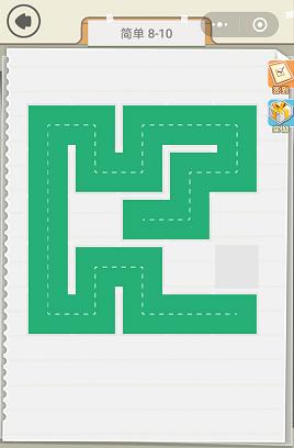 微信快来连方块简单8-10通关图文攻略