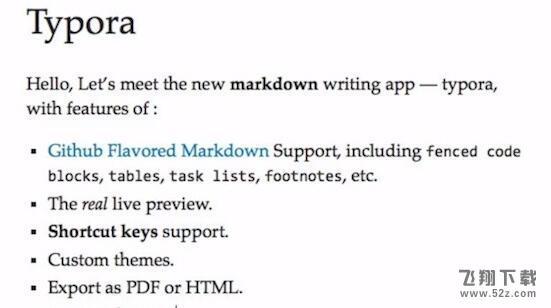 TyporaV0.9.9.18.1 Mac版_52z.com