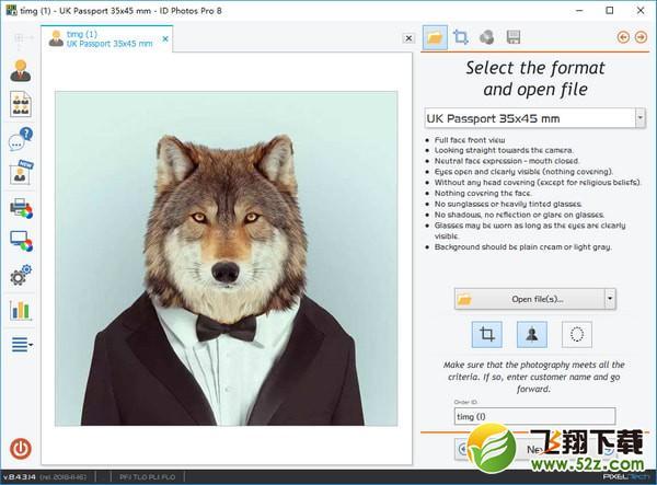 ID Photos Pro 8(证件照制作打印工具)V8.4.3.14 免费版_52z.com