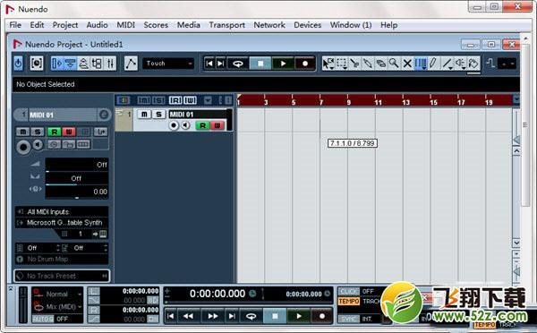 音频工作站软件V4.3.0 绿色版_52z.com