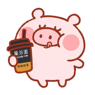 可爱卡通小猪头像情侣一人一张 精选小猪卡通情侣头像2019最新