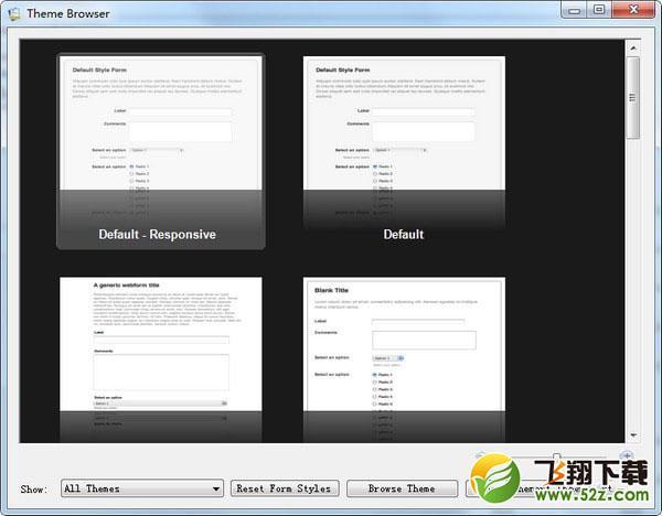 CoffeeCup Web Form Builder(网页表单制作工具)V2.9.5525 免费版_52z.com