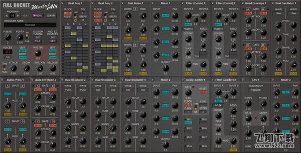 ModulAir(复音模块化合成器)V0.9.1 免费版_52z.com