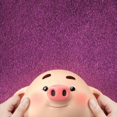 2019猪年头像可爱卡通图片大全 最新猪年微信头像高清无水印