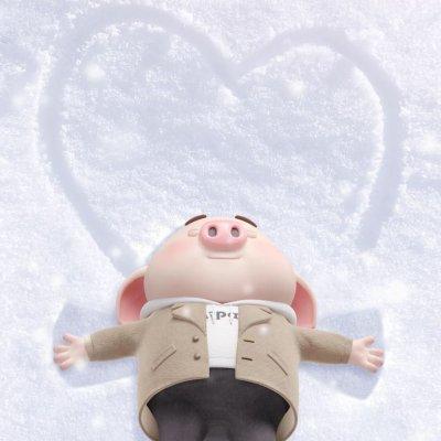 2019猪年头像可爱卡通图片大全 最新猪年微信头像高清无水印图片