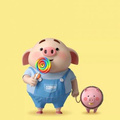 2019猪年头像可爱卡通图片大全 最新猪年微信头像高清无水印_52z.com