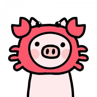 猪年情侣微信头像一人一张 2019最新可爱猪猪情侣头像大全