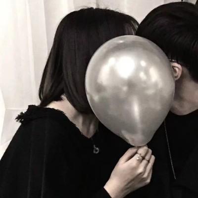 情侣头像黑白霸气一对2019最新 最新的黑白情侣头像霸气2019精选图片