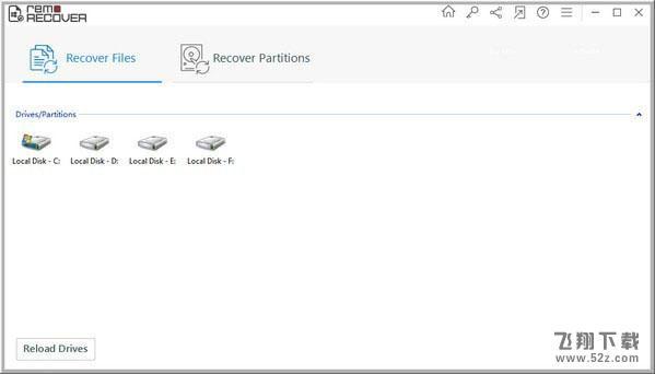 Remo Recover(数据恢复软件)V5.0.0.1 免费版_52z.com