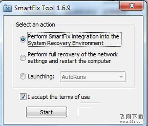 SmartFix Tool(系统修改工具)V1.6.9 官方版_52z.com