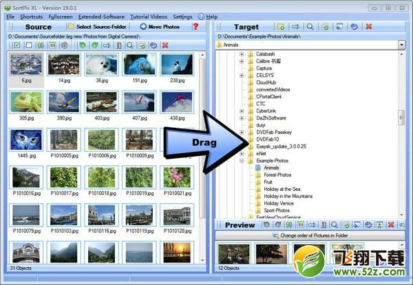 SortPix XL(图像管理软件)V19.0.1 免费版_52z.com