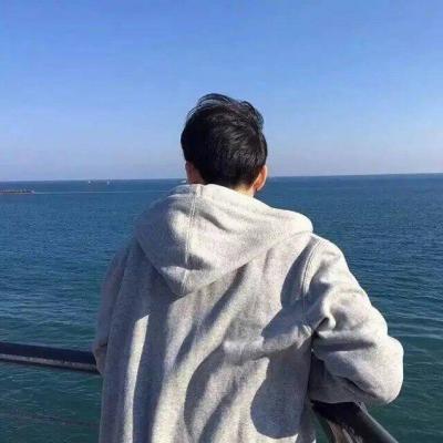 2019微信男生背影头像高清帅气