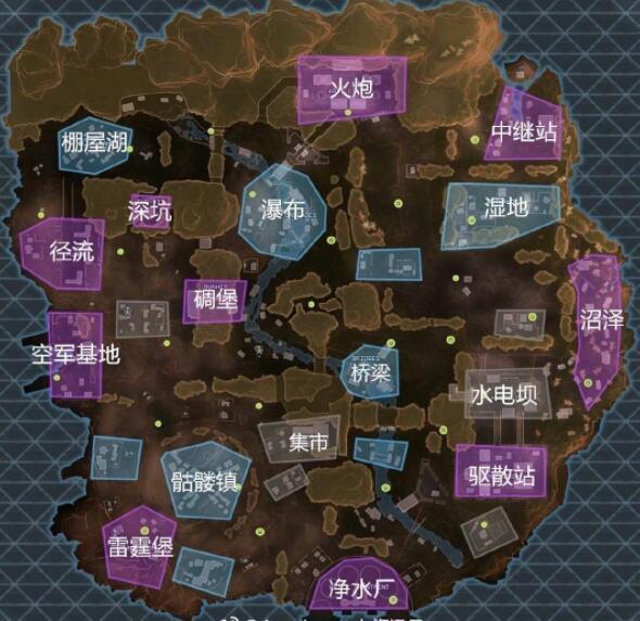 APEX英雄全地图资源点译名汇总