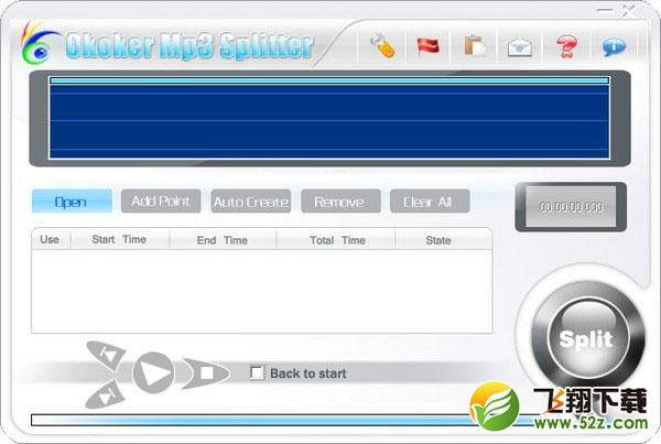 Okoker Mp3 Splitter(mp3切割器)V5.0.0 官方版_52z.com