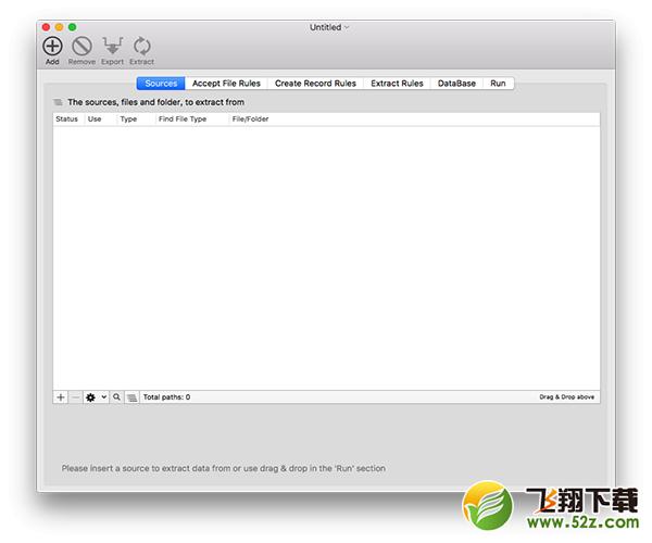 Data ExtractorV1.7 Mac版_52z.com