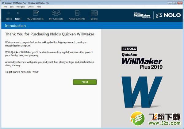 Quicken WillMaker Plus(财务管理软件)V19.5.2429 免费版_52z.com