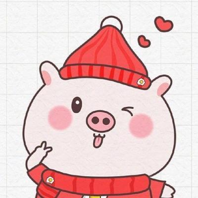 卡通情侣头像搞怪可爱大全 2019猪年情侣头像卡通呆萌一对
