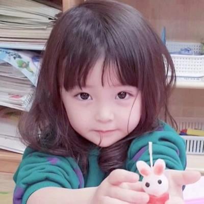 2019微信可爱萌娃头像大全 萌死人的小女孩头像图片
