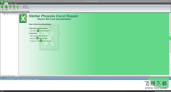 Stellar Phoenix Excel Repair(Excel修复工具)V5.5.0 免费版_52z.com