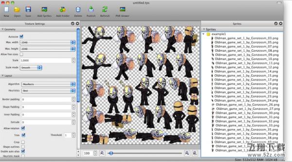 TexturePacker for MacV4.12.0 Mac版_52z.com