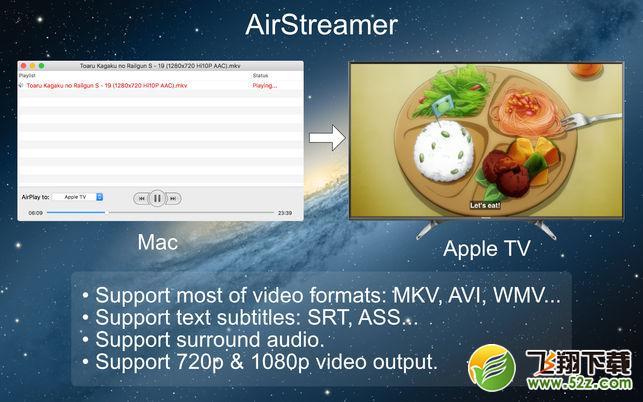 AirStreamerV1.3 Mac版_52z.com