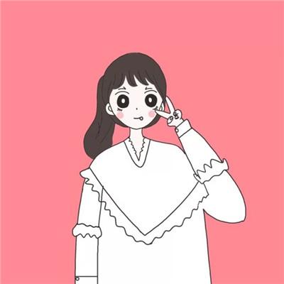 卡通可爱闺蜜姐妹专属头像2019 2019最新可爱女生动漫闺蜜头像大全图片
