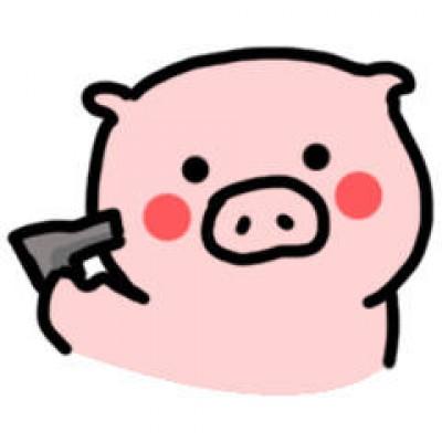 2019微信卡通猪头像呆萌 可爱呆萌微信卡通猪头像大全图片