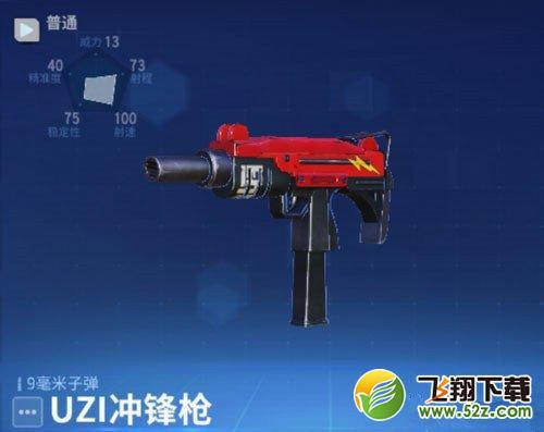 《堡垒前线:破坏与创造》UZI冲锋枪属性介绍_52z.com