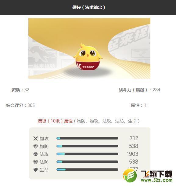 《一起来捉妖》翅仔妖灵图鉴_52z.com