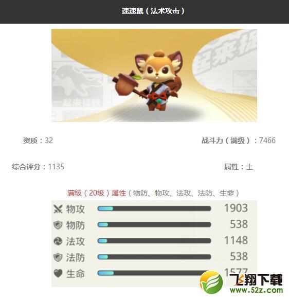 《一起来捉妖》速速鼠妖灵图鉴_52z.com