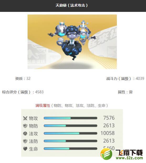 《一起来捉妖》天劫使妖灵图鉴_52z.com