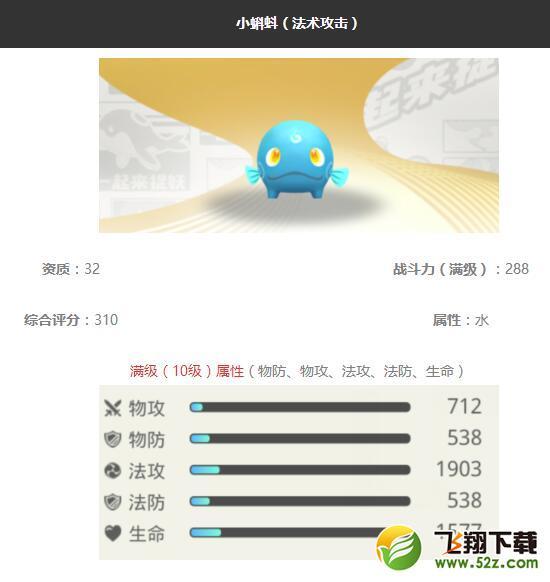 《一起来捉妖》小蝌蚪妖灵图鉴_52z.com