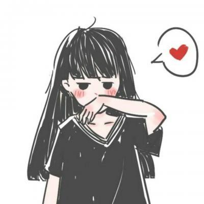 2019动漫卡通情侣头像一对两张呆萌可爱 卡通情侣头像一男一女超萌呆图片