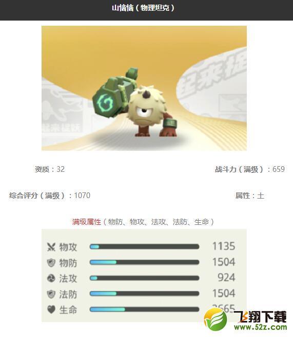 《一起来捉妖》山恼恼妖灵图鉴_52z.com